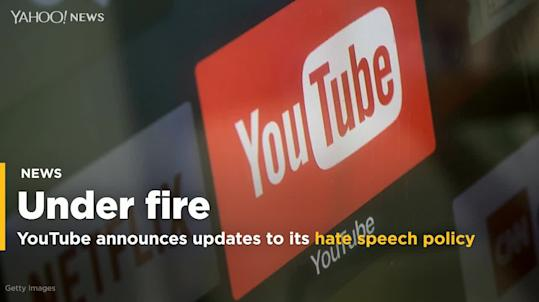 Under fire, YouTube updates its policy on racist content and