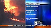Brush Fire Forces Evacuations Near Idyllwild