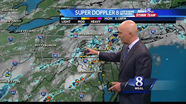 Joe's forecast: Some severe thunderstorms this evening