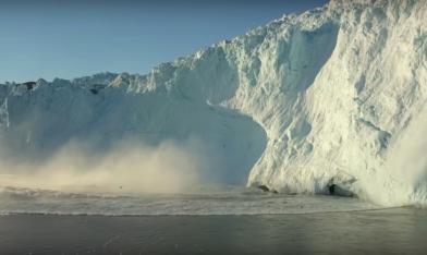 罕見大融冰 20億噸一天消失