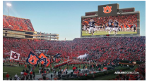 College Football Team's Massive Scoreboard