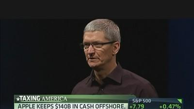 Apple's Cook Takes on Taxes