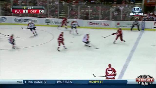 Florida Panthers at Detroit Red Wings - 01/26/2014