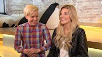 Grace Helbig and Hannah Hart on their YouTube success