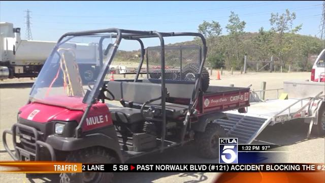 Biyclist Rescued After Passing Out in Extreme SoCal Heat