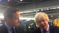 Johnson and Cameron Hit the Campaign Trail