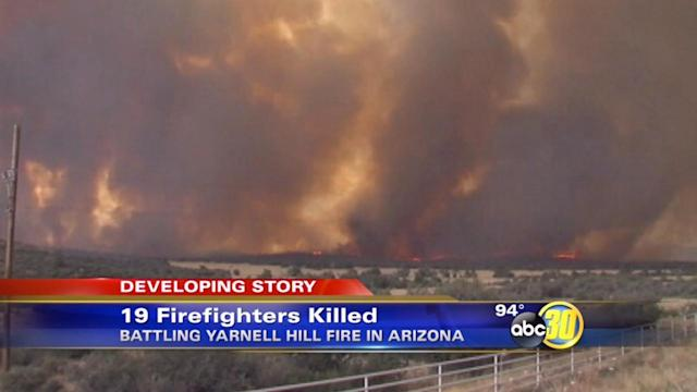 Arizona wildfire kills 19 firefighters in line the of duty