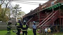 Fire Rips Through Several Montco Rowhomes