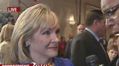 Gov.-Elect Fallin Talks To Wendell Edwards