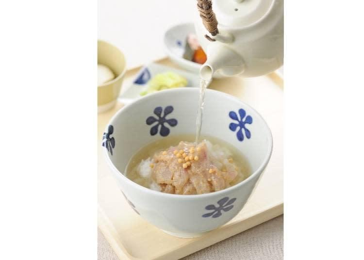 鯛魚高湯茶泡飯 960日圓