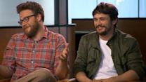 Seth Rogen and James Franco Will Do Anything to Get a Laugh