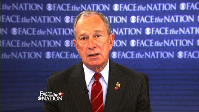 Bloomberg: I'm trying to level the playing field the NRA used to control