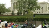 Line Forms Early for Supreme Court Gay Marriage