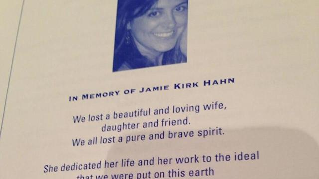 Jamie Hahn honored at Jefferson Jackson Dinner