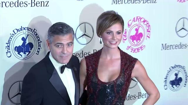 George Clooney and Stacy Keibler Split Up?