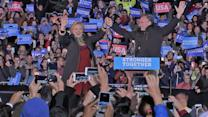 Hillary Clinton, Tim Kaine Campaign for Votes in Pennsylvania