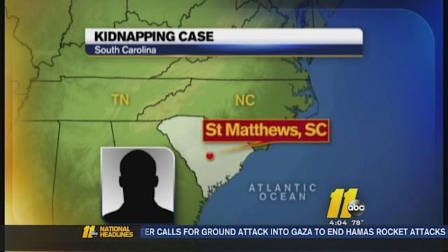 Man kidnapped in South Carolina, rescued in Cumberland County