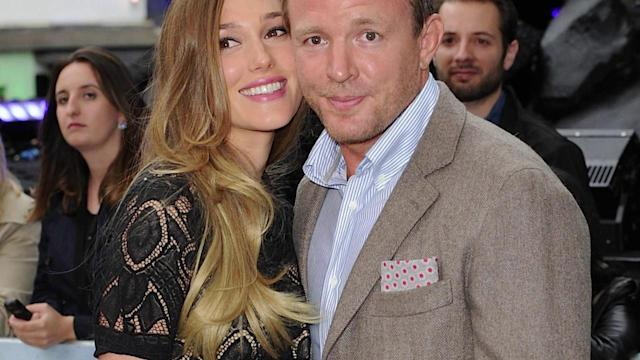 Guy Ritchie's Girlfriend Jacqui Ainsley Shows Off 'Baby Bump' on Red Carpet