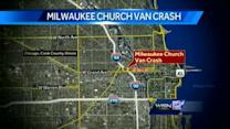 Church van from Milwaukee crashes in Chicago
