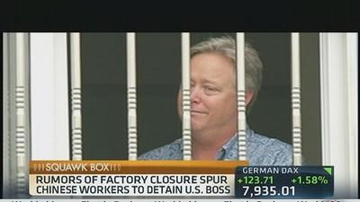 US CEO Held Hostage in China Factory