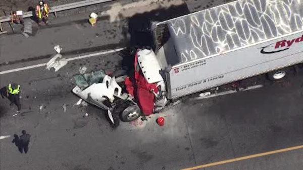 Fatal truck crash on Route 30 in Valley Township