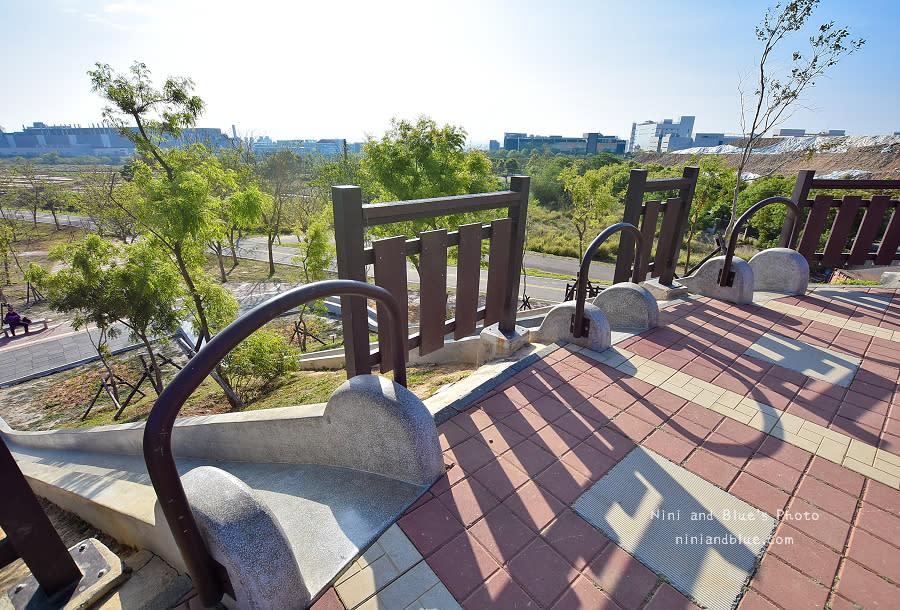 大雅中科公園|復古磨石子滑梯10