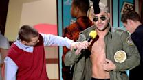 Zac Efron Shows Off Abs with Dave Franco at the MTV Movie Awards 2015