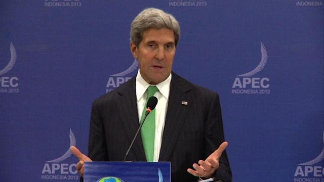 Long political crisis will weaken US, says Kerry
