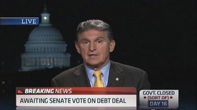 We need to agree on definition of revenue: Sen. Manchin