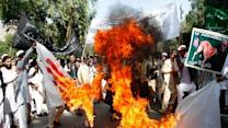 Raw Video: Afghans protest against prophet film