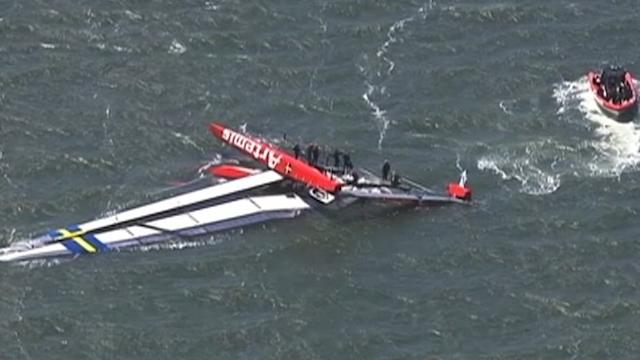 Olympian Dead After America's Cup Boat Capsizes