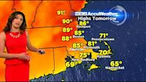 WBZ AccuWeather Midday Forecast For May 25