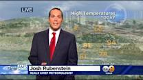 Josh Rubenstein's Weather Forecast (March 31)
