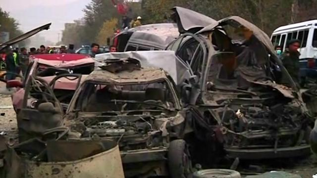 Blast near Kabul talks venue