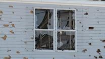 Pearl homes damaged by hail