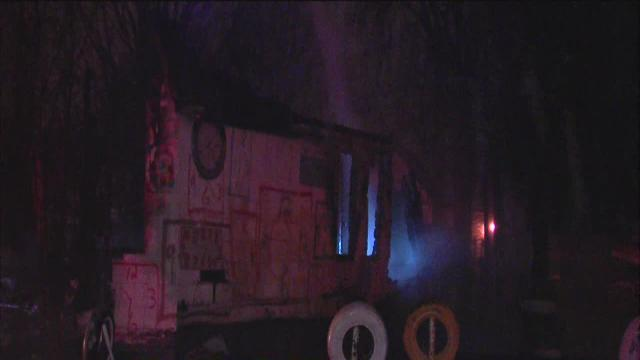 Police suspect arson after Clock House burns at Heidelberg Project