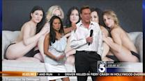 News Anchors on Nude Bridal Party Photos