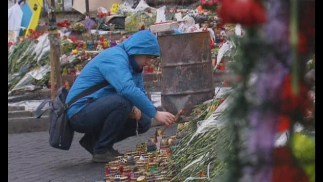 Kiev residents discuss the possibility of a war with Russia