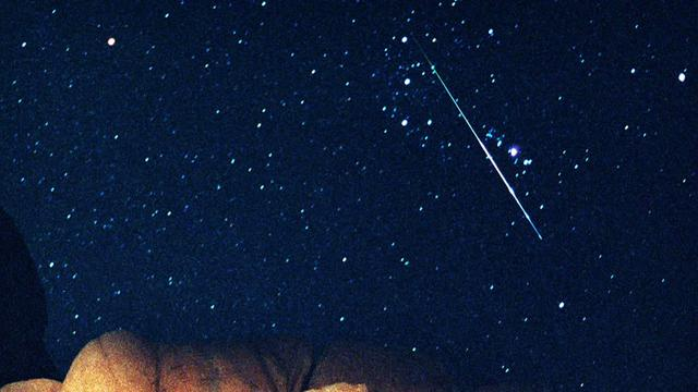 Perseid meteor shower in full swing