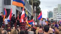 Armenians in Los Angeles Mark 100th Anniversary of Genocide