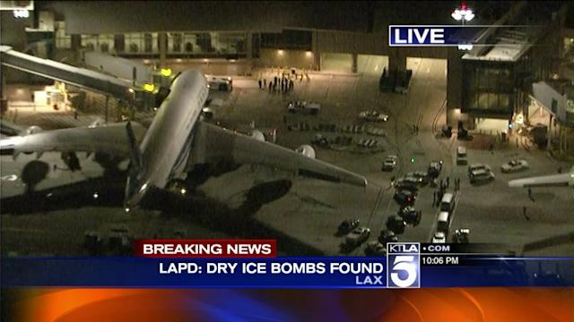 Second Dry Ice Bomb Explodes at LAX