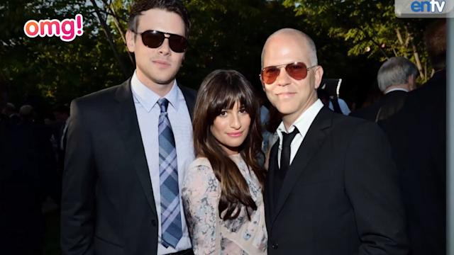 Glee cast and crew attend Cory Monteith memorial
