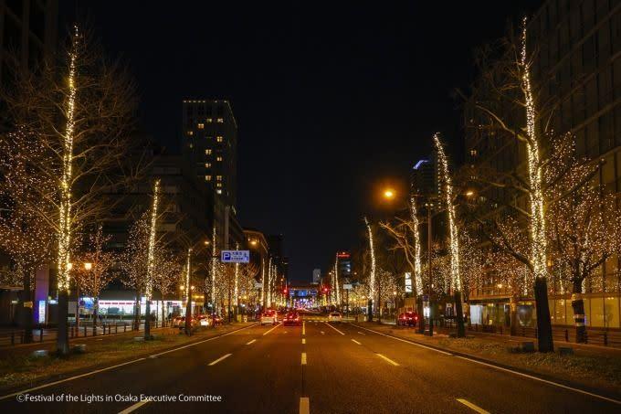 御堂筋燈飾2018