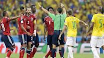 A match that proved too big for the Spanish referee