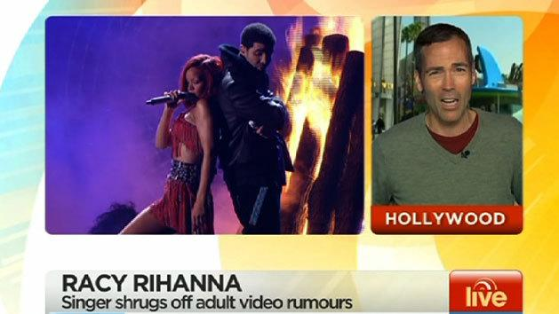 Rihanna's sex tape rumours, Jim Carrey's video love letter