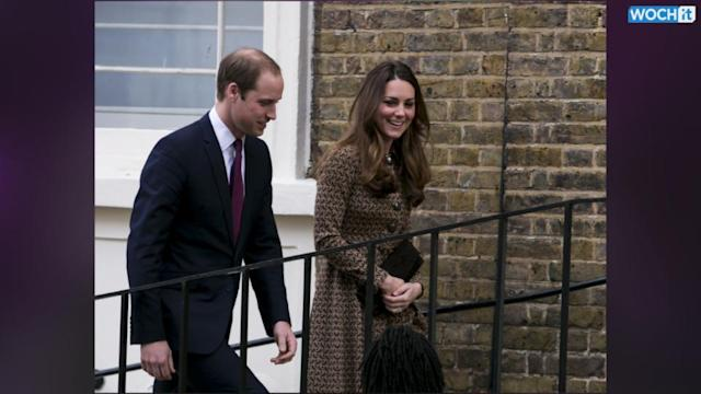 Prince William And Kate Middleton Front Row At Twerk Show During Charity Visit