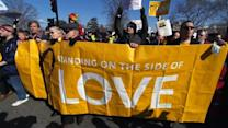 Supreme Court hears challenge to Prop 8