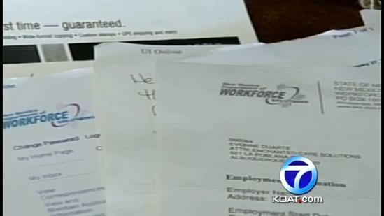 Woman says unemployment office asking for money back