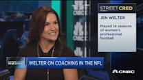 NFL hires first female coach