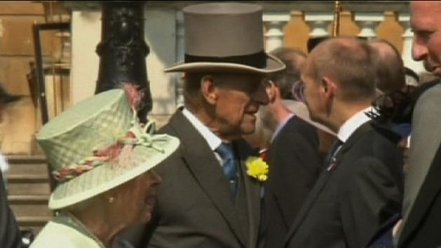 Queen plays down Prince Philip's surgery